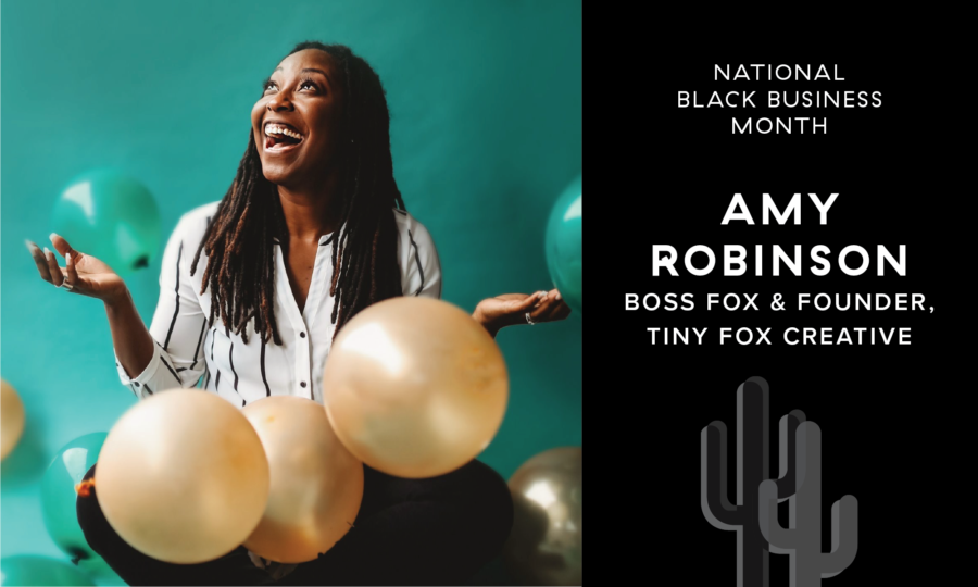 Black Business Month: Amy Robinson, Boss Fox & Founder of Tiny Fox Creative featured image