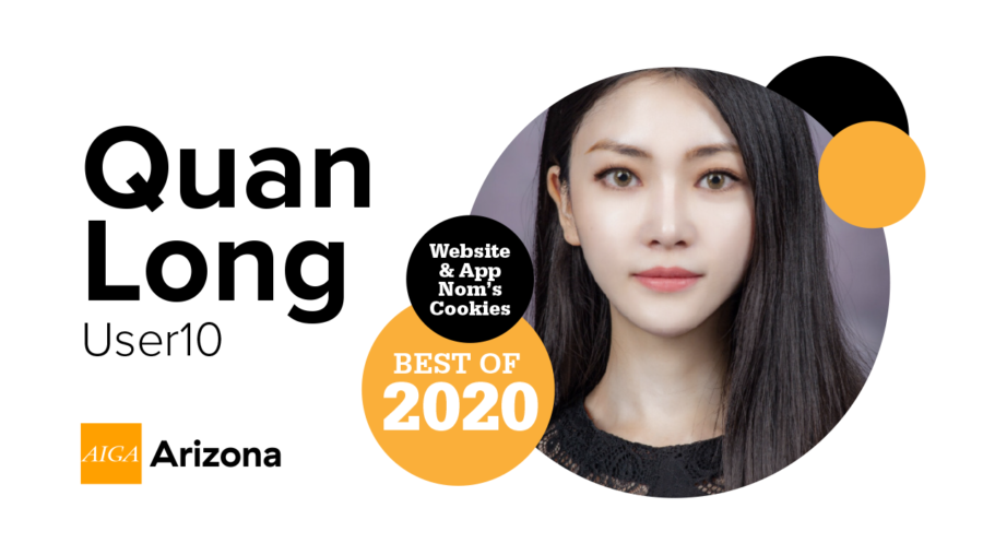 Quan Long from User10 voted AIGA Arizona's Best of 2020 featured image
