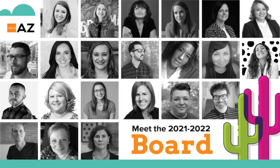 Presenting the AIGA Arizona Board of Directors for 2021-2022 featured image